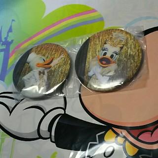 Disney - ワンマンズドリーム  カプセルトイ  ドナルド デイジー 缶バッジ  ディズニ
