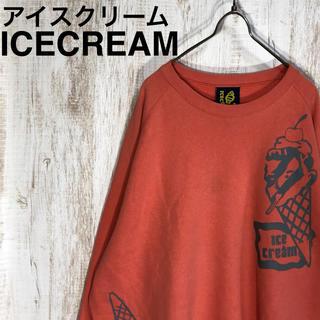 ビリオネアボーイズクラブ(BBC)のBBC ICECREAM アイスクリーム ビッグサイズ プリント スウェット(スウェット)