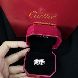 送料無料  Cartier  ラブリング 指輪(リング(指輪))