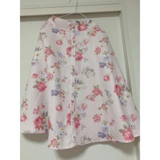 LIZ LISA - LIZLISA 花柄 スカート ピンク 量産