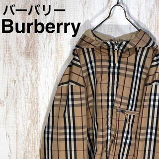 BURBERRY - BURBERRY LONDON バーバリー ノバチェック リバーシブル ブルゾン