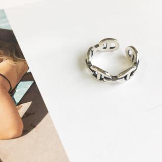 アリシアスタン(ALEXIA STAM)の人気のデザイン❤️chain ring・ silver925可愛いです(リング(指輪))