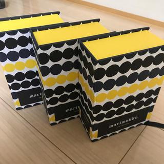 マリメッコ(marimekko)のマリメッコ  ポストカード 空箱(その他)
