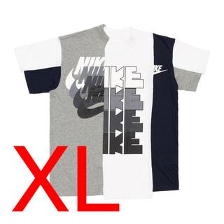 ナイキ(NIKE)の【即日発送】Nike SACAI ハイブリッド Tシャツ マルチカラー XL(Tシャツ(半袖/袖なし))