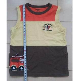 オシュコシュ(OshKosh)のオシュコシュ ビゴッシュOSHKOSH タンクトップ 120cm 男の子 車柄(Tシャツ/カットソー)
