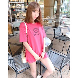 Rady - Rady♡フレームrady  Tシャツ ピンク オーバーTシャツ