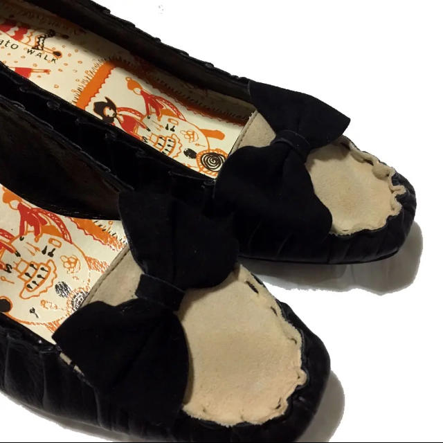 TSUMORI CHISATO(ツモリチサト)の未使用品【tsumorichisato WALK】ツモリチサト パンプス23.5 レディースの靴/シューズ(ハイヒール/パンプス)の商品写真