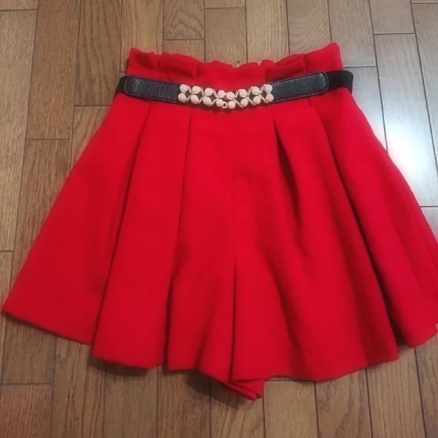 ByeBye(バイバイ)のByeBye キュロットスカート レディースのスカート(ミニスカート)の商品写真