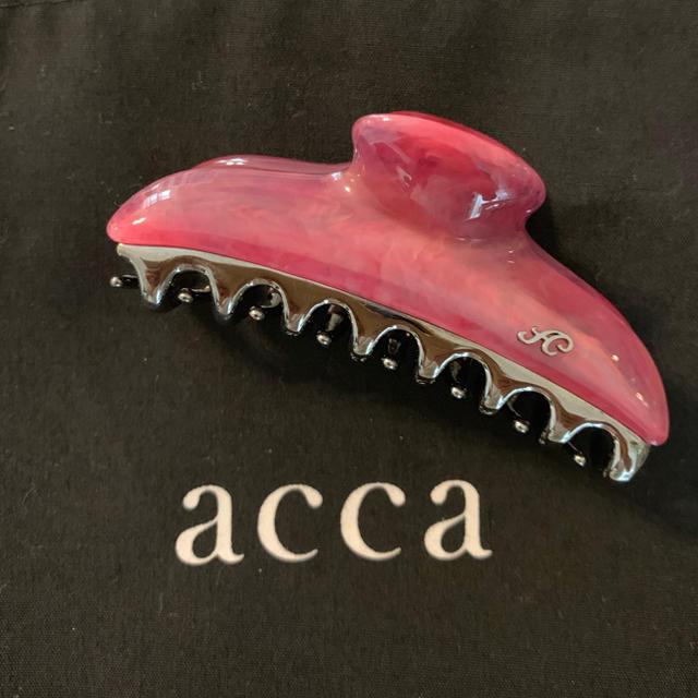 acca(アッカ)のくるみ2816様ご専用[新品・未使用]acca♡バービーフクシア 中クリップ レディースのヘアアクセサリー(バレッタ/ヘアクリップ)の商品写真