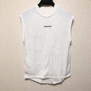 ミスティウーマン(mysty woman)のノースリロゴプリントT(Tシャツ(半袖/袖なし))