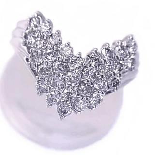 プラチナダイヤ Pt900ダイアモンド1.00ctリング(リング(指輪))