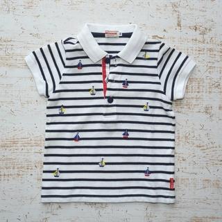 ミキハウス(mikihouse)のミキハウス ポロシャツ 80サイズ(シャツ/カットソー)