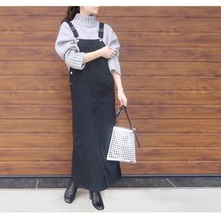 IENA - 完売!dolce. ロングジャンパースカート