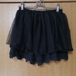 ジーユー(GU)の女児 ジーユー チュールスカート150(スカート)
