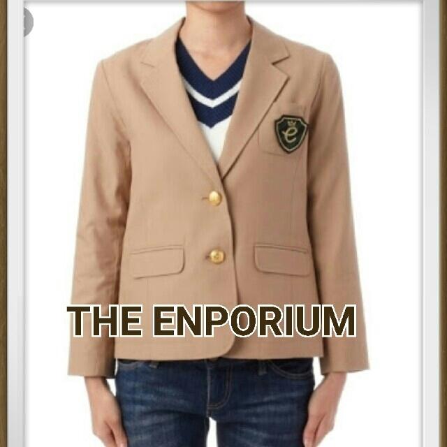 THE EMPORIUM(ジエンポリアム)の【新品タグ付き】THE ENPORIUM♥ワッペン付き♪テーラードジャケット♥ レディースのジャケット/アウター(テーラードジャケット)の商品写真