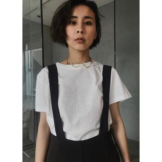 アメリヴィンテージ(Ameri VINTAGE)のアメリHARVARD UNIVERSITY EMBROIDERY TEE(Tシャツ(半袖/袖なし))
