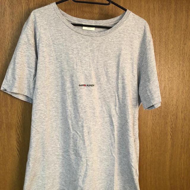 Saint Laurent(サンローラン)のサンローラン ロゴTシャツ メンズのトップス(Tシャツ/カットソー(半袖/袖なし))の商品写真