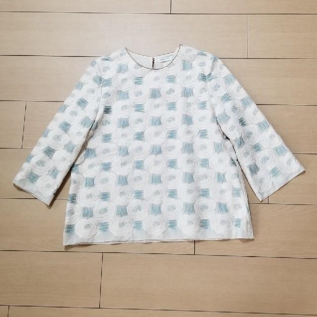 mina perhonen(ミナペルホネン)のミナペルホネン rosas ブラウス 40 レディースのトップス(シャツ/ブラウス(長袖/七分))の商品写真