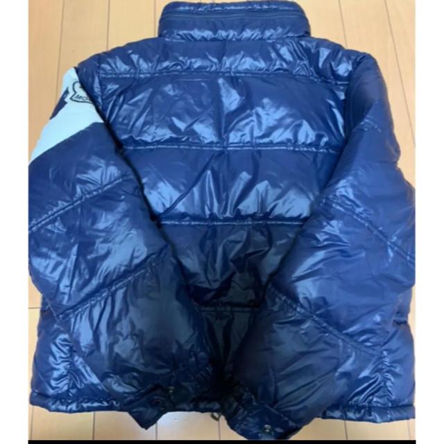 MONCLER(モンクレール)のモンクレール ダウンジャケット ダウン 140cm キッズ/ベビー/マタニティのキッズ服 男の子用(90cm~)(ジャケット/上着)の商品写真
