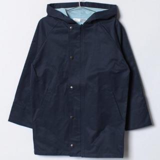 イッカ(ikka)の新品♡ イッカキッズ 120センチ 袖裏配色フードコート ネイビー 大特価‼️(ジャケット/上着)