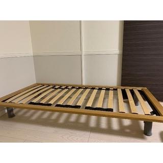 ムジルシリョウヒン(MUJI (無印良品))のベッドフレーム シングル / 無印良品 MUJI / 5000円割引あり(シングルベッド)