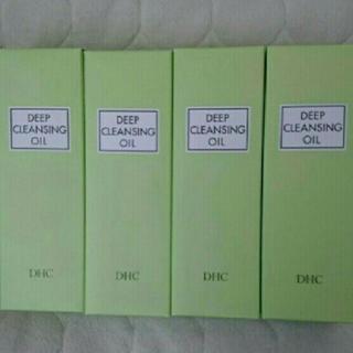 DHC - 【新品未開封】 DHC薬用ディープクレンジングオイル(L)  200ml×4本