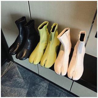 BEAUTY&YOUTH UNITED ARROWS - インポート 足袋ブーツ スクエアブーツ