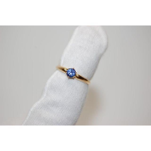 4℃(ヨンドシー)の4℃ K18 タンザナイト リング&ネックレス セット品 サイズ約10号 レディースのアクセサリー(リング(指輪))の商品写真