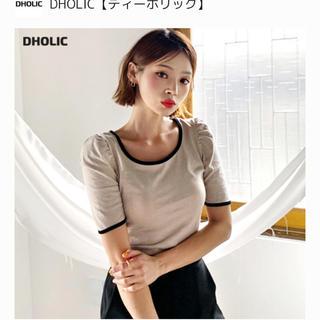 dholic - スクエアネックTシャツ