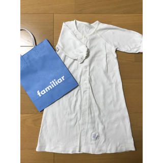 ファミリア(familiar)のfamiliar ベビードレス肌着(セレモニードレス/スーツ)