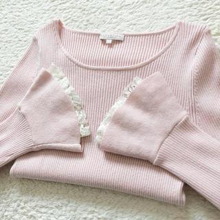 PROPORTION BODY DRESSING - プロポ♡ベルスリーブニット