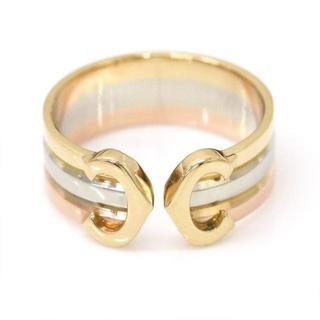 カルティエ(Cartier)のCartier  C2Cドゥカルティエ スリーカラーリング K18 #5.5(リング(指輪))