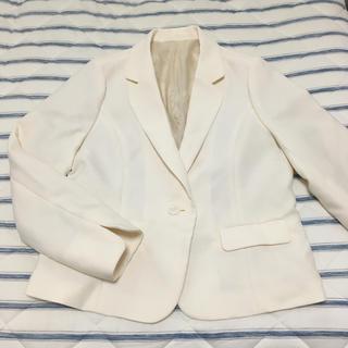 ニッセン - 大きいサイズ☆アイボリーのジャケット