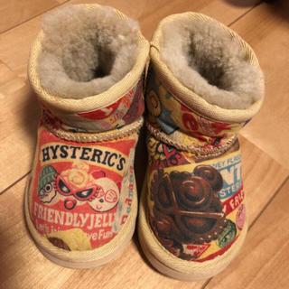 ヒステリックミニ(HYSTERIC MINI)のヒスミニ ムートン(ブーツ)