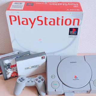 PlayStation - プレイステーション SCPH-5500 ソフト付き