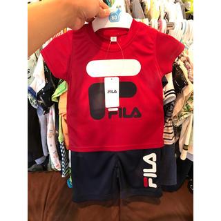 フィラ(FILA)のフィラ FILA セットアップ ジャージ  ティーシャツ ズボン(Tシャツ)