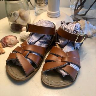 こども ビームス - 今週末のみ値下げ!Saltwater sandal US7