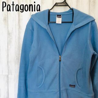 パタゴニア(patagonia)のPatagonia ジップアップパーカー フーディ ロゴあり(パーカー)
