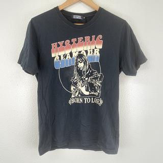 HYSTERIC GLAMOUR - 美品 ヒステリック グラマー メンズ Tシャツ M 黒 半袖 カットソー