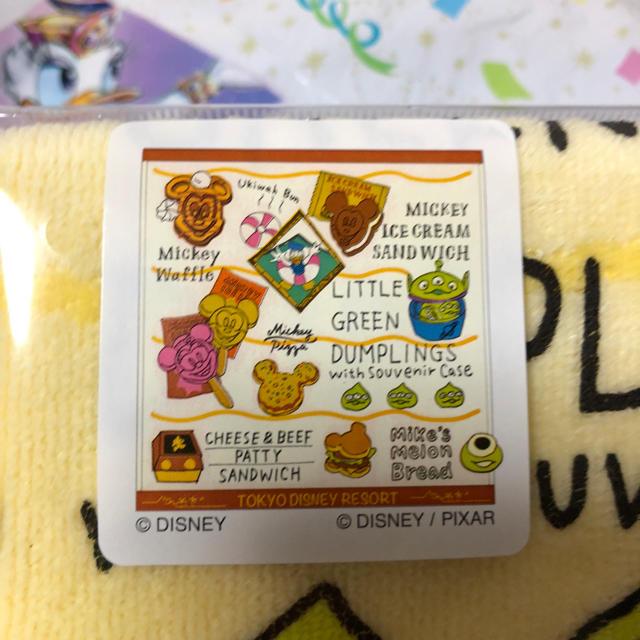 Disney(ディズニー)のパークフード   ウォッシュタオル  ディズニー エンタメ/ホビーのおもちゃ/ぬいぐるみ(キャラクターグッズ)の商品写真