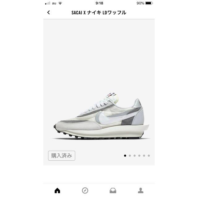 NIKE(ナイキ)のNIKE×Sakai LDWaffle   27.5cm メンズの靴/シューズ(スニーカー)の商品写真