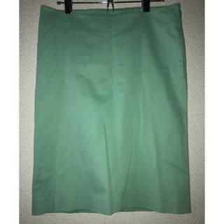 フェンディ(FENDI)のFENDI エメラルドグリーンスカート(ひざ丈スカート)
