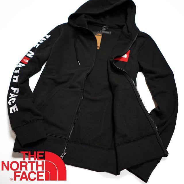 THE NORTH FACE(ザノースフェイス)のノースフェイス Red Box フルジップ ロゴ パーカー S 海外限定 ■ メンズのトップス(パーカー)の商品写真