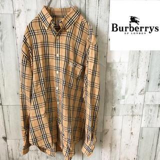 BURBERRY - Burberrys ノバチェック シャツ バーバリー ベージュ Mサイズ