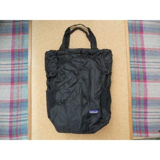 patagonia - パタゴニア LW Travel Tote Pack BLK