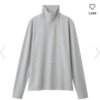 ジーユー(GU)のGU  ラメタートルネックT(長袖)NR(Tシャツ(長袖/七分))