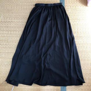 GU - 黒のロングスカート