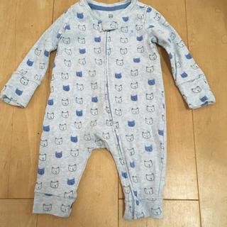 ベビーギャップ(babyGAP)の新生児 ベビーギャップ 60㎝ ロンパース(ロンパース)
