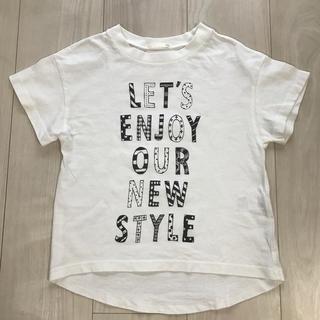 GU - GU ロゴTシャツ 120㎝