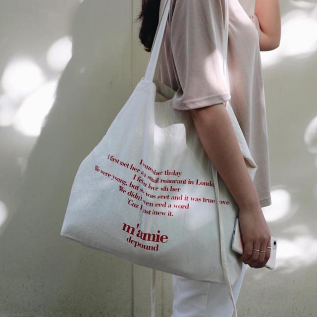 STYLENANDA(スタイルナンダ)のdepound トートバック レディースのバッグ(トートバッグ)の商品写真
